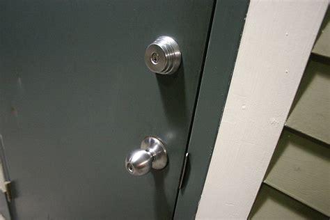 front door  secure lane lock  key