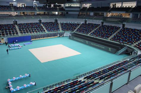 Interior Design Games national gymnastics arena in azerbaijan by broadway malyan