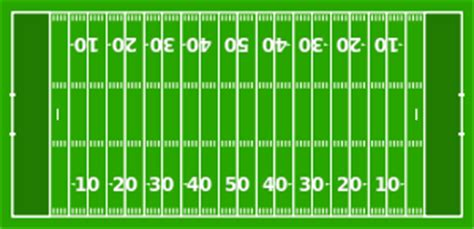 Gridiron Football American Football American Football Field Diagram