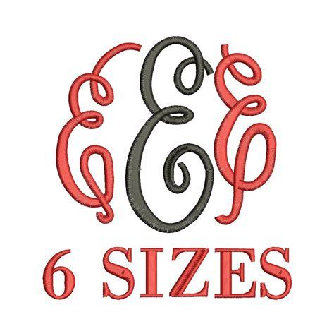 Tajima Instan 9 master circle embroidery font 6 sizes instant