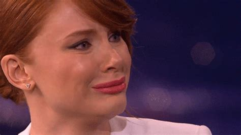 sad gif sad bryce dallas howard gif find on giphy