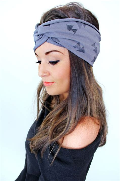 hairstyles with sport headbands free shipping extra wide headband triangle by pebbyforevee