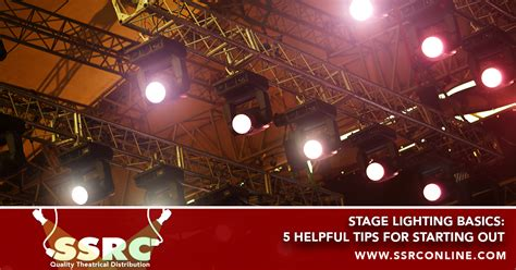 Stage Lighting Basics by Ssrc Quality Theatrical Production Products