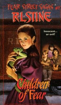 children of the l series fear saga books by r l stine from simon schuster