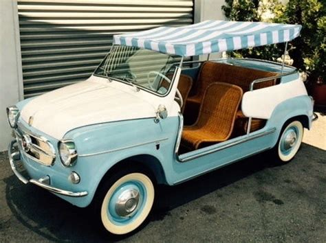 Fiat Jolly For Sale 1960 Fiat Jolly 600 For Sale Photos Technical