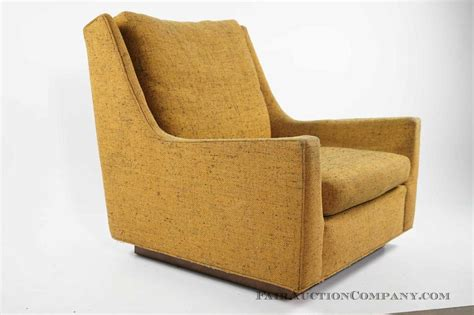 Danker Furniture by Vintage Modern Armchair With Plinth Base From Fair Auction