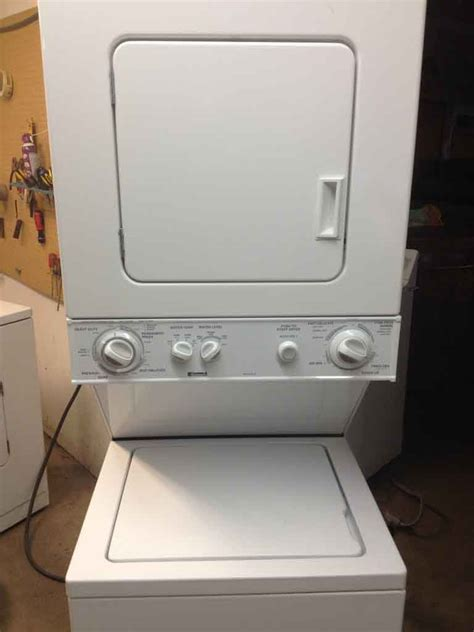 stackable washer and dryer sears washer and dryers kenmore stackable washer and dryer