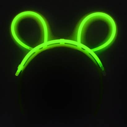 glow bunny ears glow novelties glowsticks co uk
