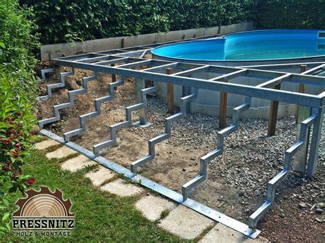 terrasse unterkonstruktion alu montageservice holzfachhandel pre 223 nitz norbert