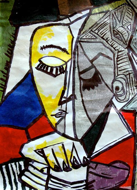 picasso paintings essay in this exercise one of the cubist portraits