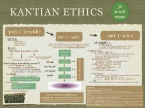 Kantian Ethics Essay by Higher Philosophy Rmps Revision