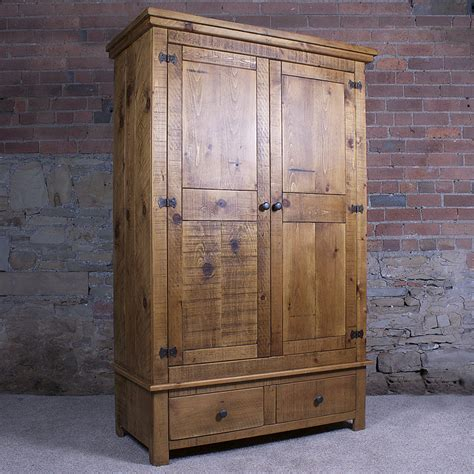 Solid Wardrobe Solid Wood Gentlemen S Wardrobe By H F
