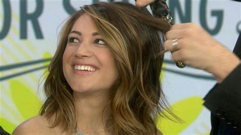 on today show haircut kaley cuoco gets hair extensions and shows off her new