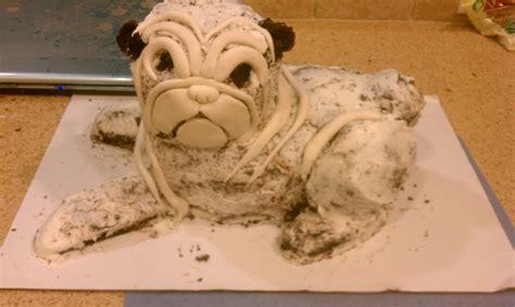 how to make a pug cake sweet bea s my pug cake journey
