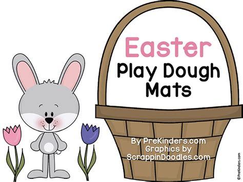 free printable easter playdough mats easter play dough mats prekinders