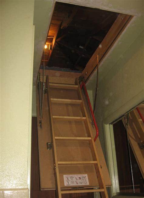Garage Attic Ladders by Folding Garage Attic Stairs