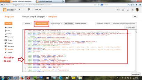 blogger tutorial full cara membuat blog gratis full tutorial mengubah dan
