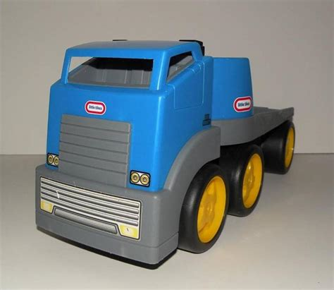 rugged riggz tikes rugged riggz semi truck car hauler motorcycle trailer ebay