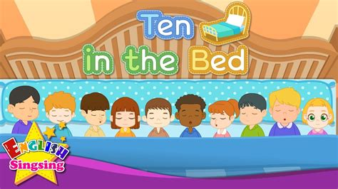 bed number ten ten in the bed number song counting song learn