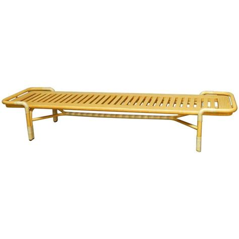 queen bench bassam fellows queen bench daybed for mcguire for sale at
