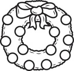 wreath coloring page free printable wreath coloring page for