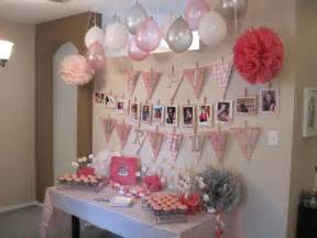 actual decorations for my baby girl s 1st bday party birthday decoration ideas at home for boy nice decoration