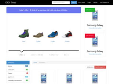 Free Ecommerce Website Templates 25 Free Css Html Template For Ecommerce Site Free