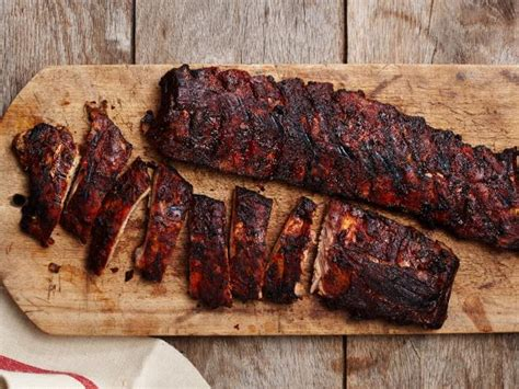 How To Smoke A Rack Of Ribs by Smoked Baby Back Ribs Recipe Food Network Kitchen Food