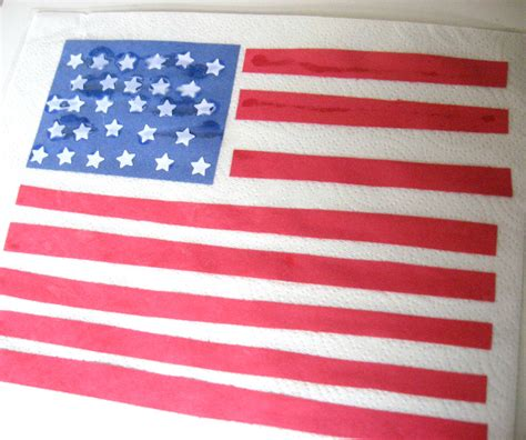 American Paper Crafts - american flag crafts for no time for flash cards