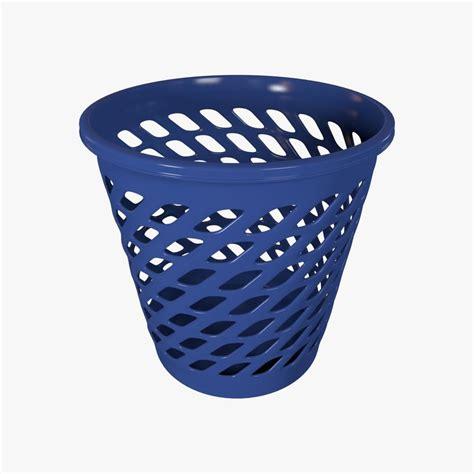 waste paper basket 3d model 3d model waste basket wastebasket