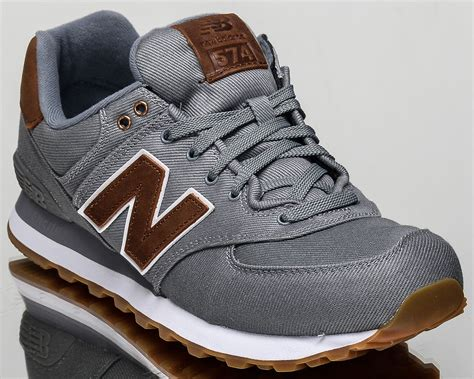 New Balance 574 Nb574 Sepatunb574 new balance 574 nb nb574 lifestyle casual sneakers new grey ml574 txc ebay