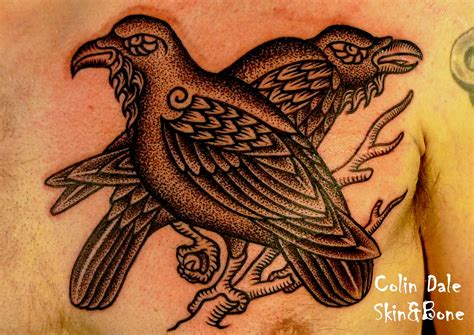 hugin and munin tattoo 27 hugin and munin tattoos