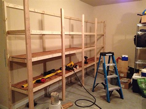 How To Build A Hanging Shelf In Garage by Garage Shelves 171 Home Improvement Stack Exchange