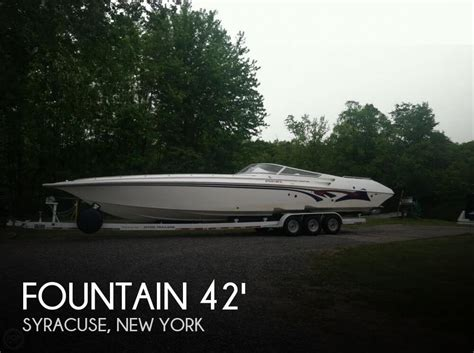 fountain boats for sale new york canceled fountain 42 lighting boat in syracuse ny 048938