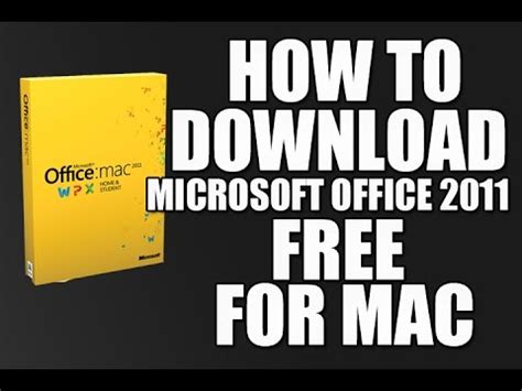 Microsoft Office 2011 For Mac Free How To Microsoft Office 2011 Free For Mac