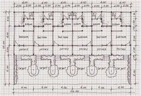 layout rumah kontrakan contoh denah rumah kontrakan yang nyaman