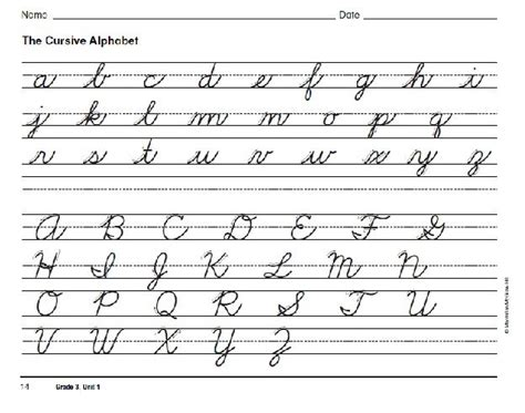 Practice Cursive Writing Worksheets Alphabet by 25 Best Cursive Images On Cursive Handwriting