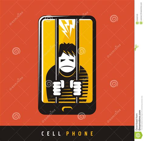 design your dream phone creative poster design for cell phone stock vector image