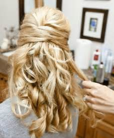 half curly half hair 32 overwhelming bridesmaids hairstyles pretty designs