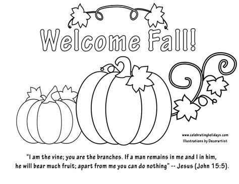 Fall Coloring Pages With Bible Verses | coloring pages with bible verses for halloween