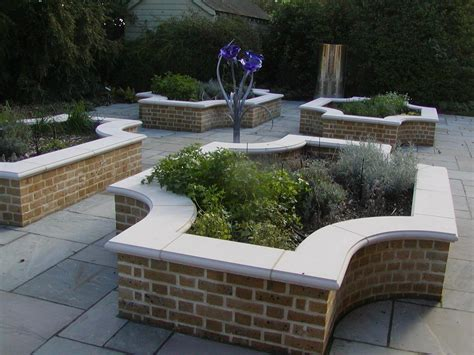 Brickwork Subcontractors Young And Wright Brickwork Build Raised Flower Bed Retaining Wall