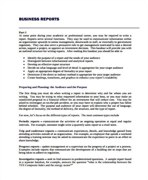 41 Report Exles Pdf Word Free Premium Templates Business Study Template