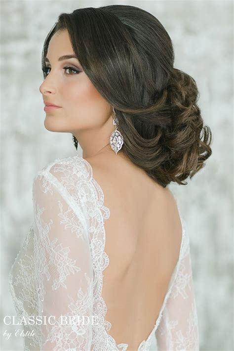 gorgeous wedding hairstyles and makeup ideas the - Wedding Hairstyles And Makeup