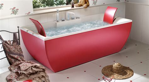 red bathtubs beautiful bathtubs by blubleu