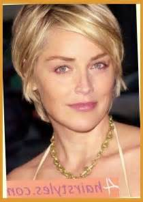 sharon stone short hairstyles Pertaining to Your hair