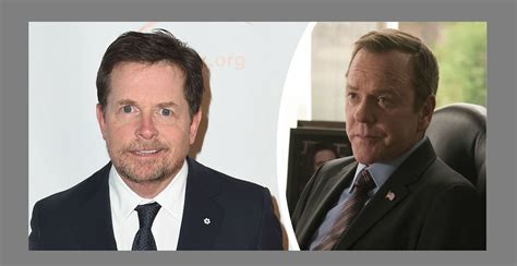 designated survivor in canada michael j fox will face off with kiefer sutherland in new