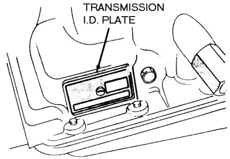 Jeep Grand Transmission Identification Repair Guides Serial Number Identification