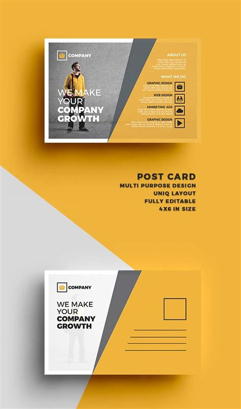 business postcard templates image result for graphic design postcard fashion graphic