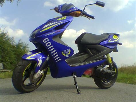 Yamaha Aerox Rossi Edition Aufkleber by Marv S Rox Ein Projekt F 252 R Sich Scootertuning