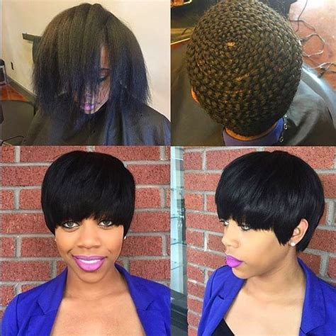 can you sew in extensions in a pixie hair cut 1000 images about weaves hair extensions on pinterest